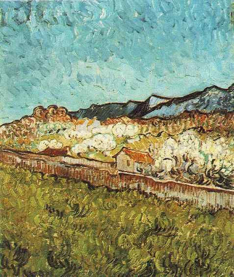 Vincent van Gogh, At the Foot of the Mountain